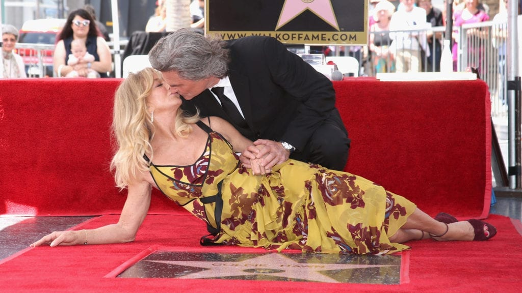 HOLLYWOOD, CA - MAY 04: Goldie Hawn and Kurt Russell are honored with a Star On the Hollywood Walk of Fame on May 4, 2017 in Hollywood, California. (Photo by Jesse Grant/Getty Images for Disney)