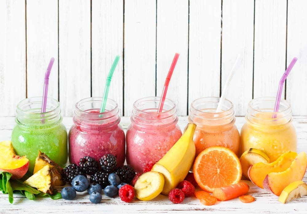 6 healthy smoothie recipes