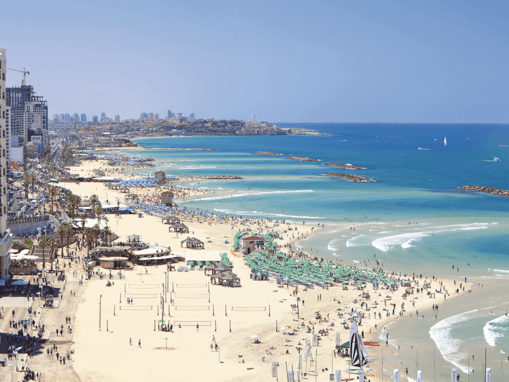 tel aviv beach-travel hotspots in israel