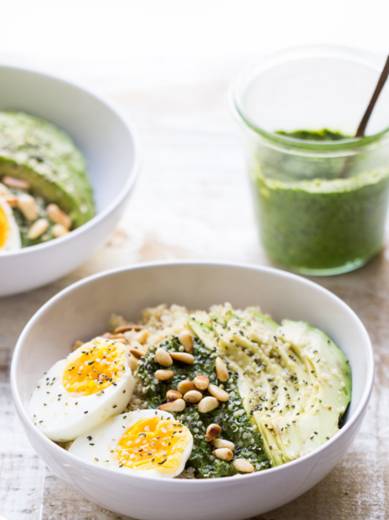 lean green and clean breakfast bowl- healthy breakfast ideas