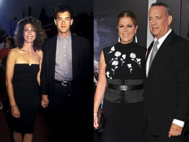 Unexpected celebrity relationships with big