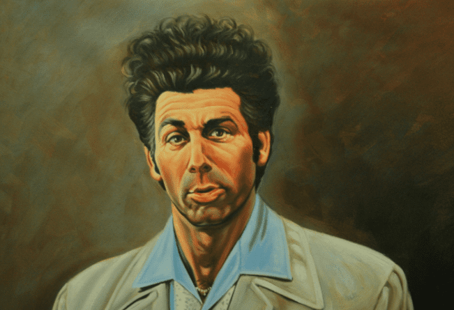 The produceru0027s loved it and it became a regular occurrence throughout the series. Kramer slid through the door a total of 284 times.  sc 1 st  EternalLifestyle & Surprising Behind-the-Scenes Facts You Didnu0027t Know About Seinfeld ...