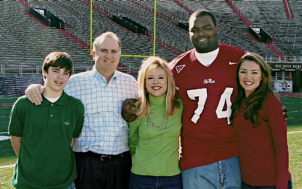The Real Life Blindside Comes to Houston - Social Climbing   Blind Side Michael Oher Sister