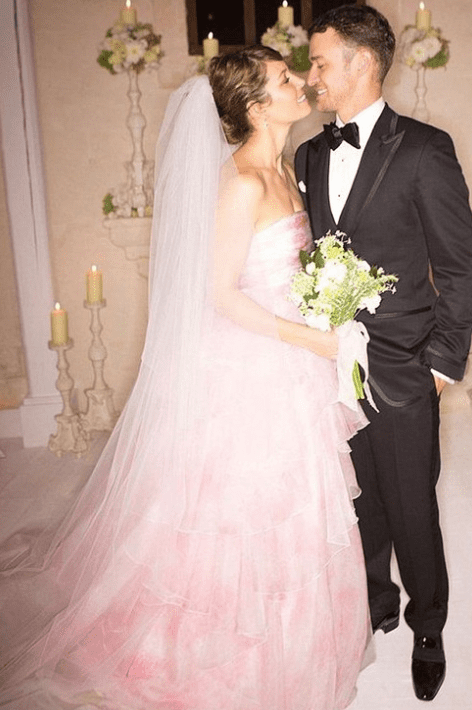 Jessica Biel Wedding Dress.The Most Unforgettable Celebrity Wedding Dresses Of All Time