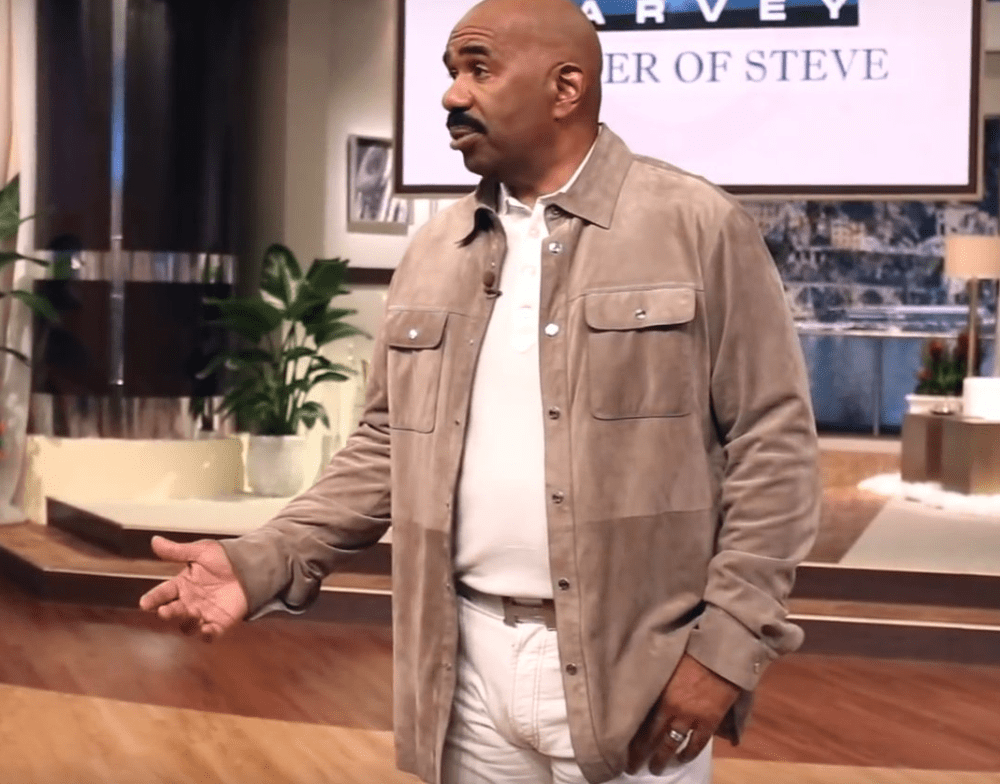 Steve Harvey Burst Into Tears When He Realized Why This