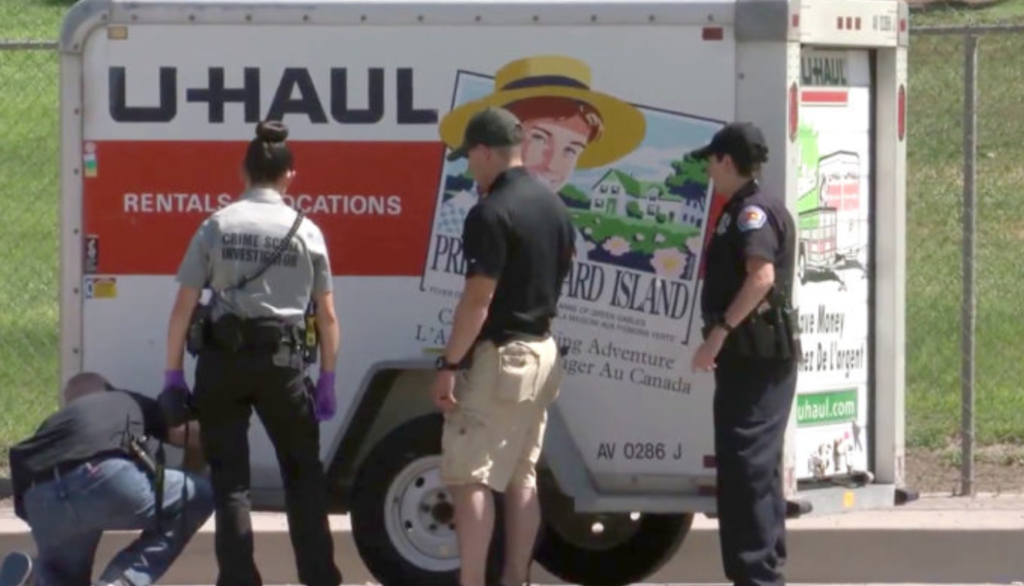 Thieves Stole A U-Haul, But Ditched It When They Saw What