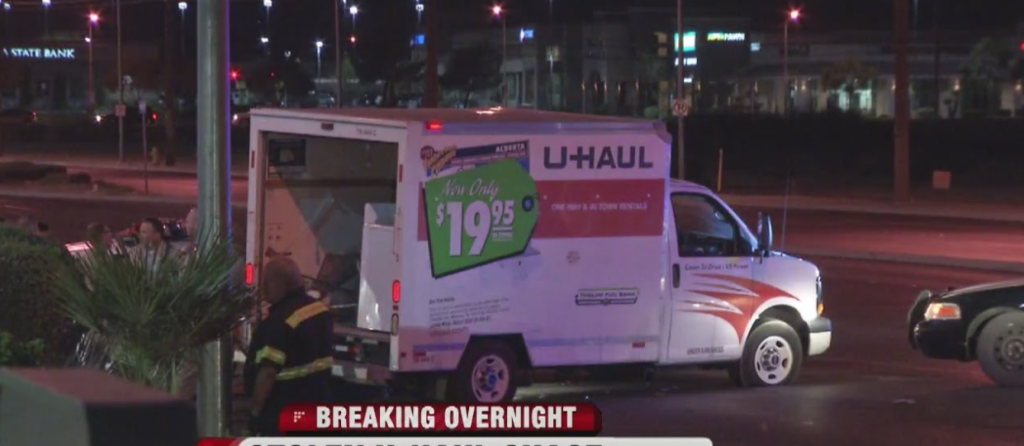 Thieves Stole A U-Haul, But Ditched It When They Saw What Was Inside