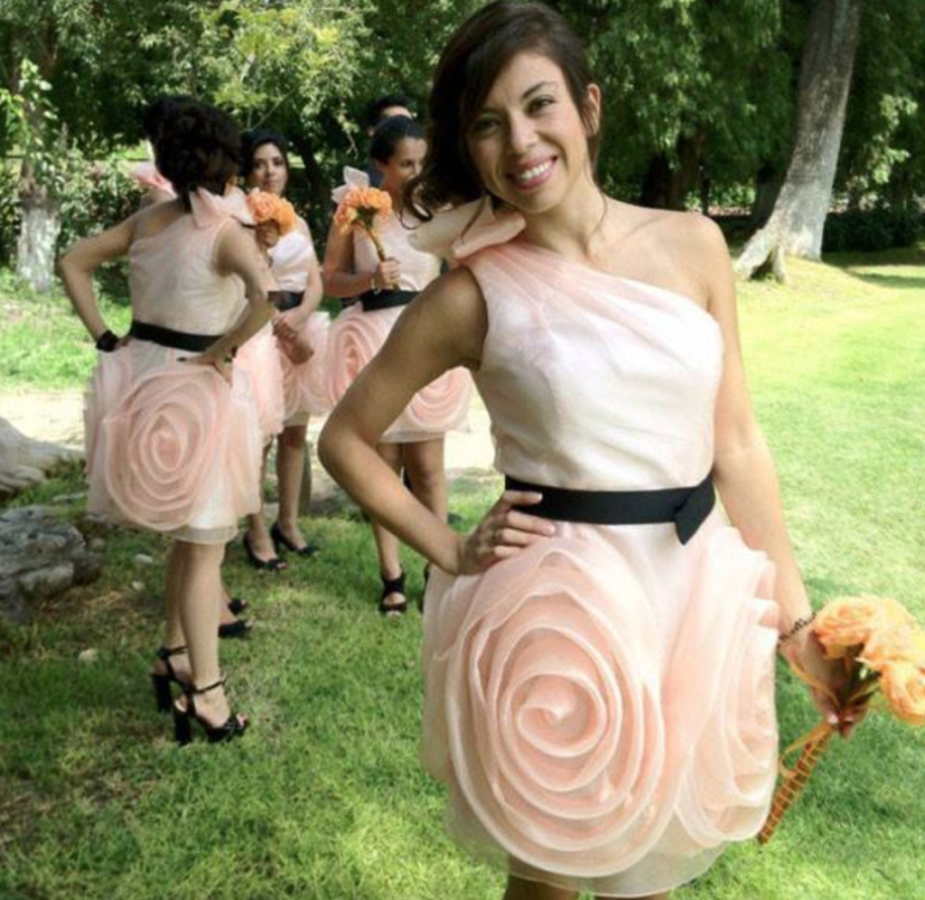 Hideous Wedding Gowns: These Bridesmaids Had No Say In The Outfits They Had To